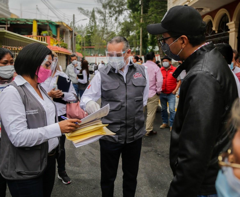 Entrega municipio más obras de pavimentación