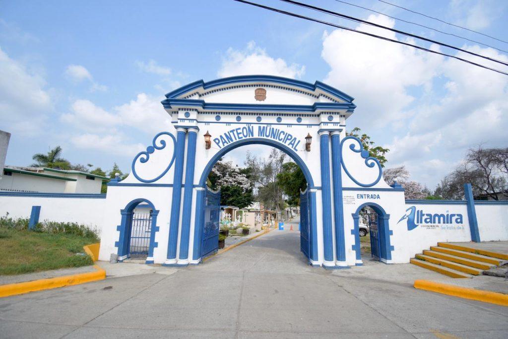 Altamira sí abrirá panteones por Día de Muertos