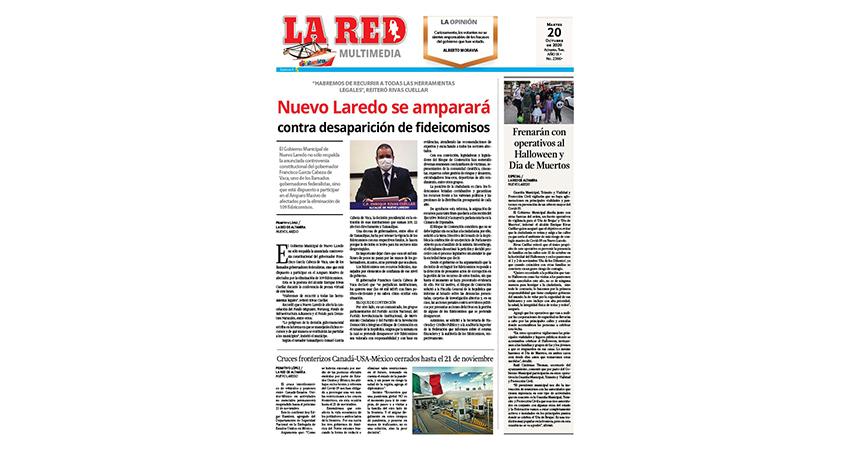 Nuevo Laredo se amparará contra la desaparición de fideicomisos