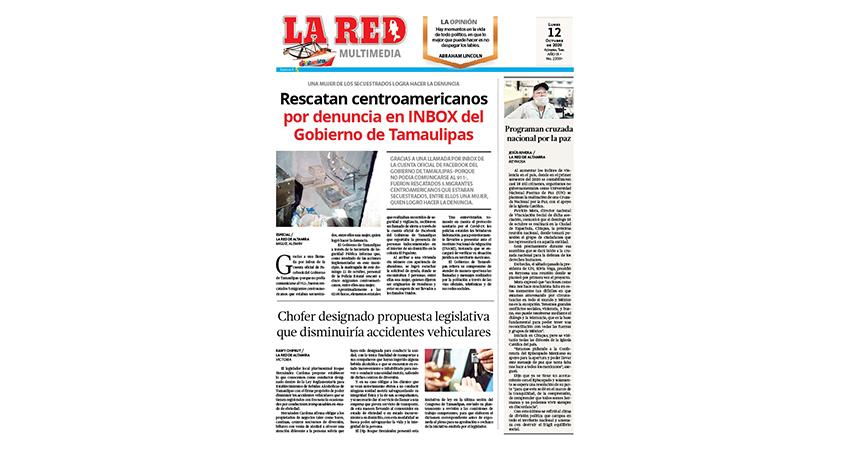 Rescatan centroamericanos por denuncia en INBOX del Gobierno de Tamaulipas