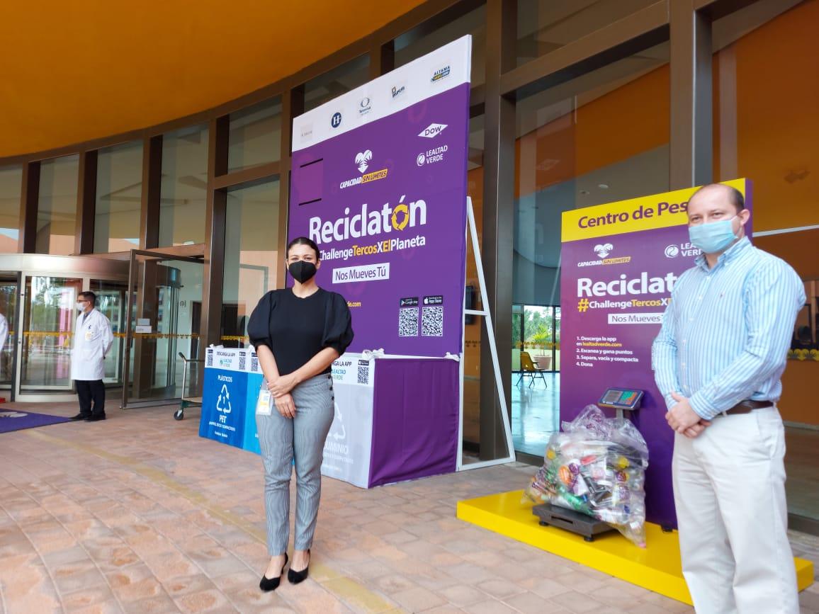 Inicia el Reciclatón en el Teletón Altamira