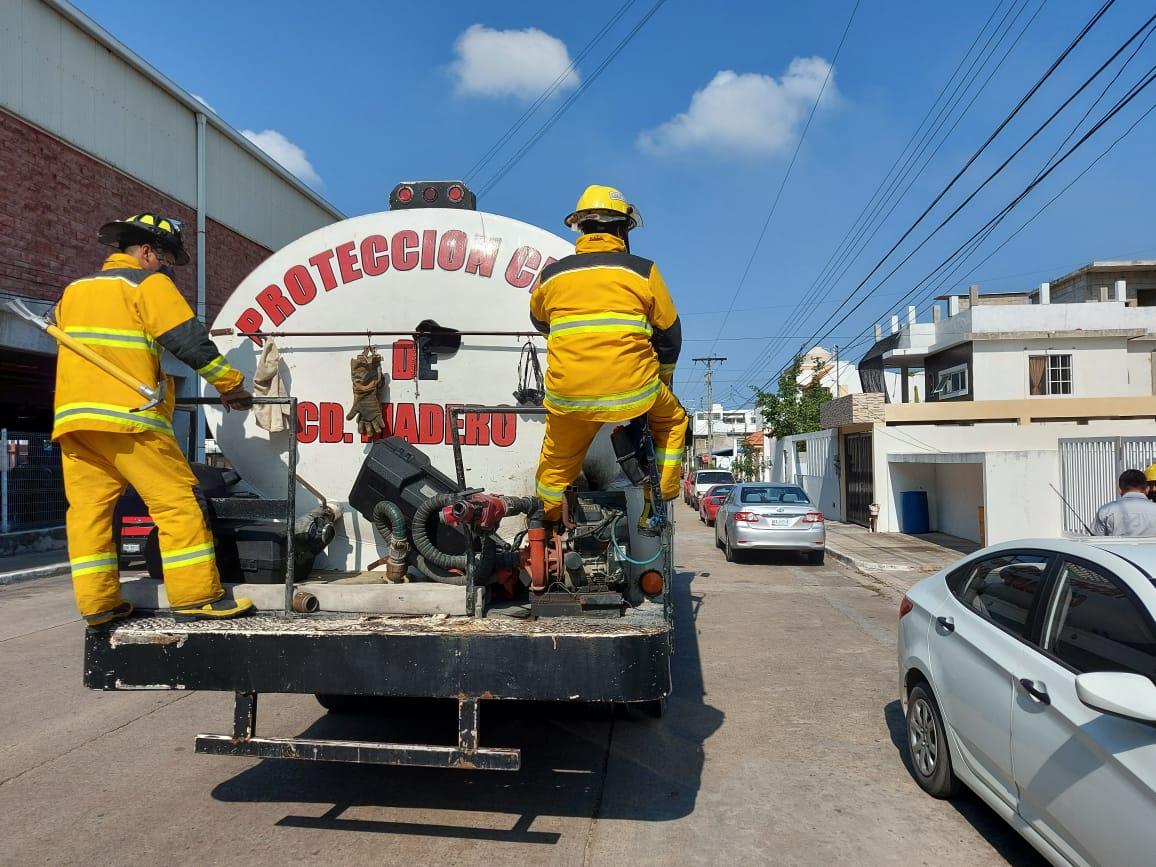 Desinfectarán la zona centro de Madero