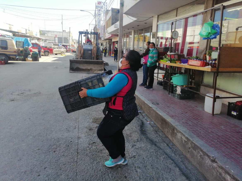 """Locatarios del Mercado Arguelles se harán comerciantes """"callejeros"""""""