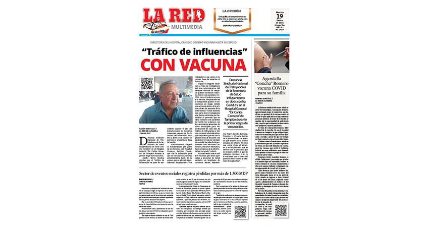 """""""Tráfico de influencias"""" con vacuna"""