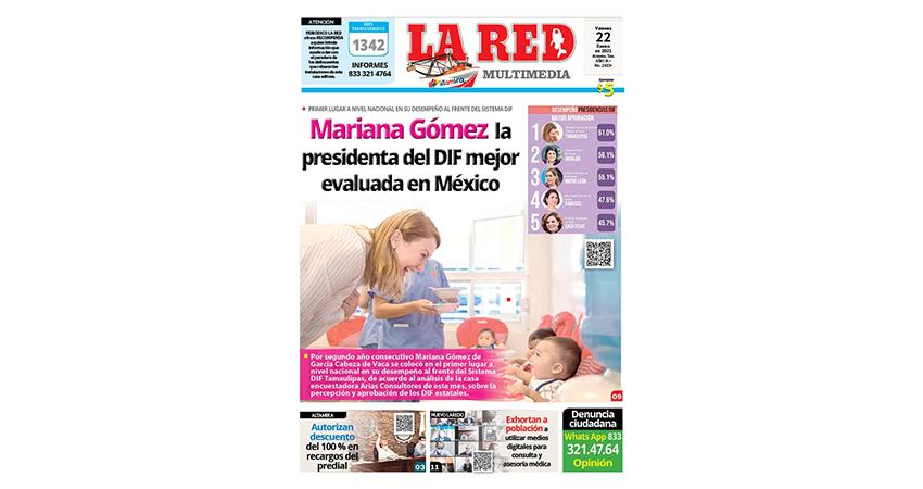 Mariana Gómez, la presidenta del DIF mejor evaluada en México
