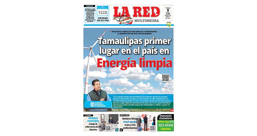 Tamaulipas primer lugar en el país en energía limpia