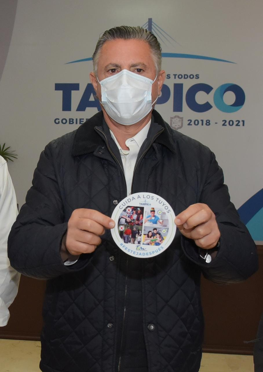 Garantiza Tampico apoyo al Programa Nacional de Vacunación AntiCovid