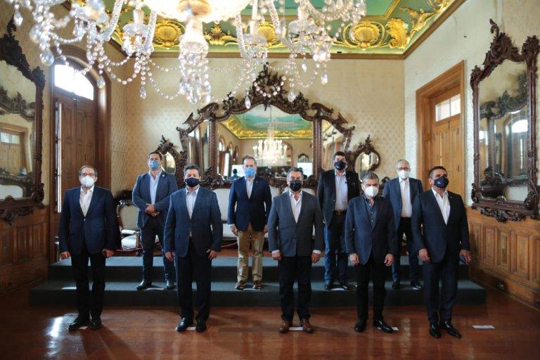 GOBERNADORES DE LA ALIANZA FEDERALISTA BRINDAN APOYO TOTAL FRANCISCO CABEZA DE VACA