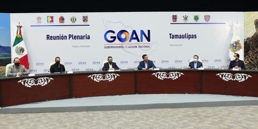GOAN acuerda en Tamaulipas acciones para la vacunación anti-Covid19 y por una política energética eficiente.
