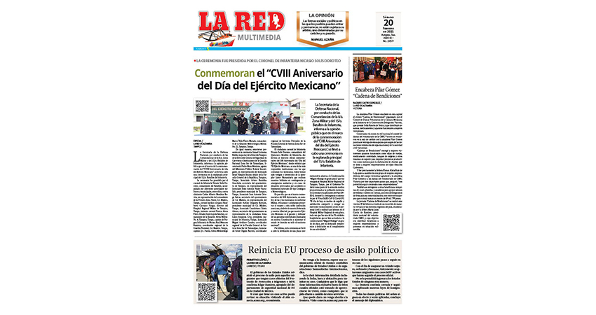 """Conmemoran el """"CVIII Aniversario del Día del Ejército Mexicano"""""""