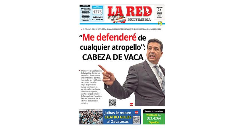 """""""Me defenderé de cualquier atropello"""": Cabeza de Vaca"""