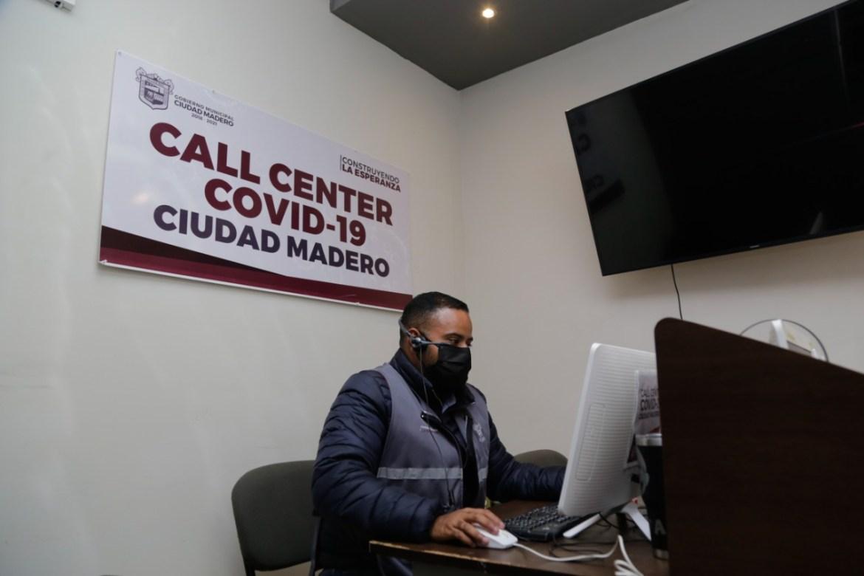 A la baja llamadas al Call Center Covid-19 maderense