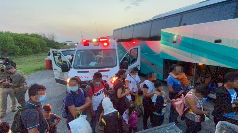 Rescata la Policía Estatal de Tamaulipas a 165 migrantes en los últimos 50 días
