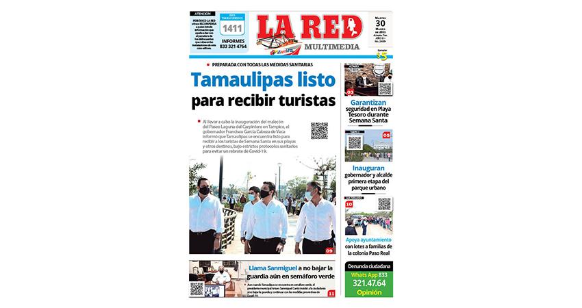 Tamaulipas listo para recibir turistas
