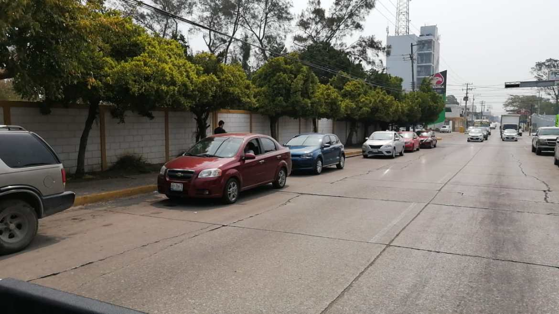 Se registran peleas en Drive Thru de Madero