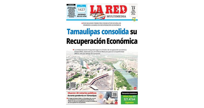 Tamaulipas consolida su Recuperación Económica