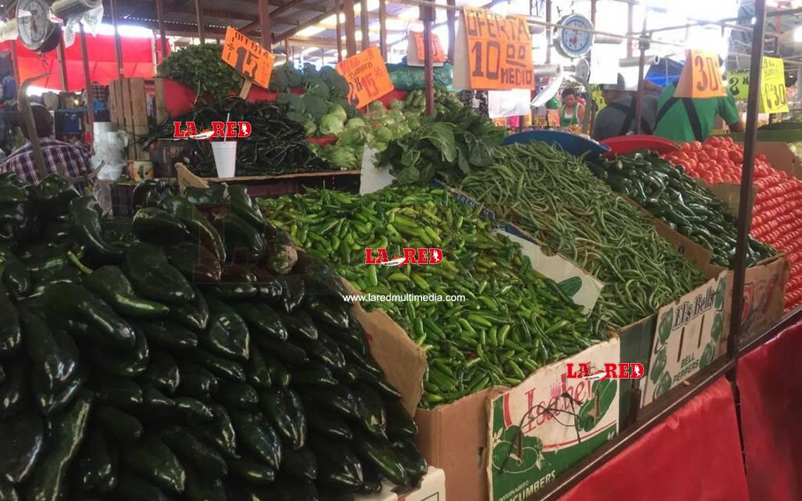 Chile serrano casi 50 pesos por kilo