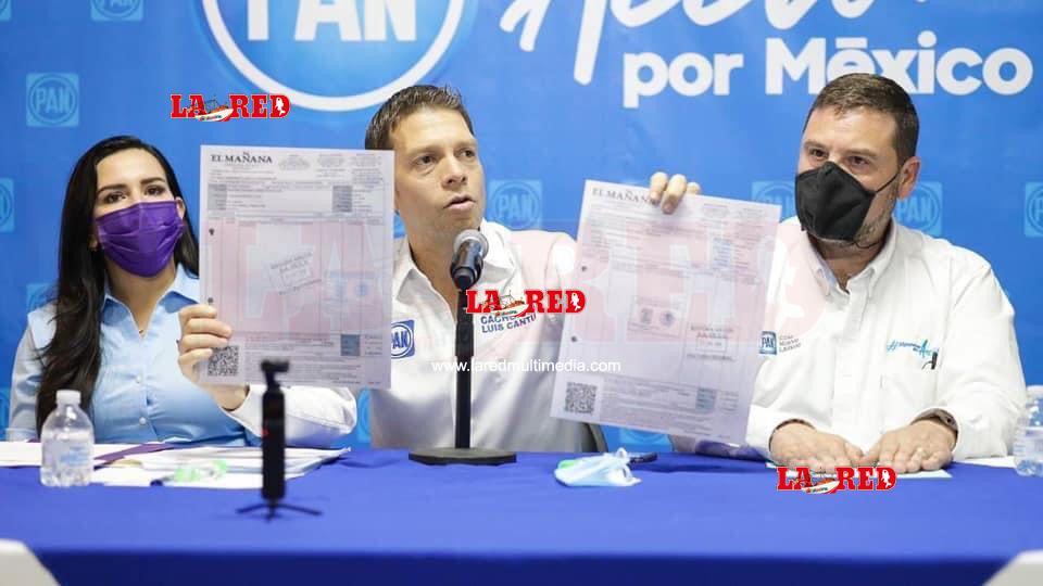 """Periódico """"El Mañana"""" viola la ley electoral: PAN"""