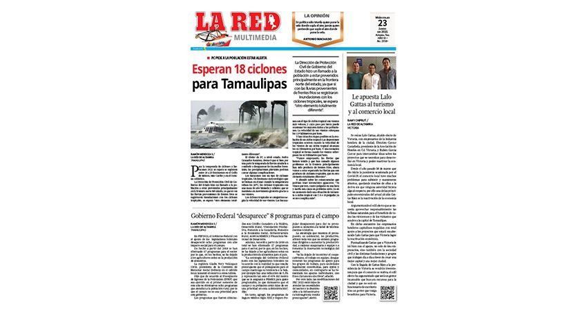 Esperan 18 ciclones para Tamaulipas