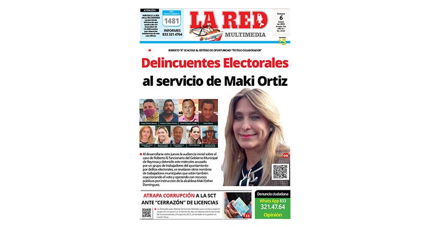 Delincuentes Electorales al servicio de Maki Ortiz