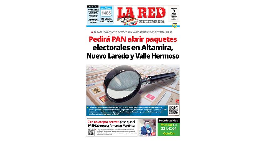 Pedirá PAN abrir paquetes electorales en Altamira, Nuevo Laredo y Valle Hermoso