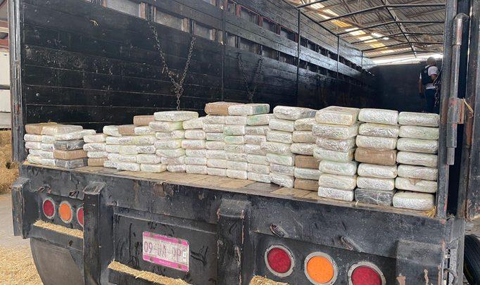 Elementos de Seguridad Pública Estatal aseguran 114 kilos de cocaína en Reynosa