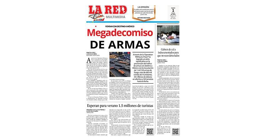 Megadecomiso de armas