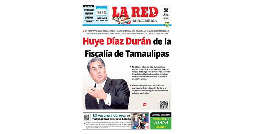 Huye Díaz Durán de la Fiscalía de Tamaulipas