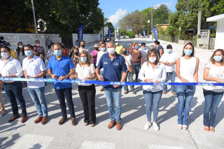 Entrega alcalde más obras de pavimentación en Tampico