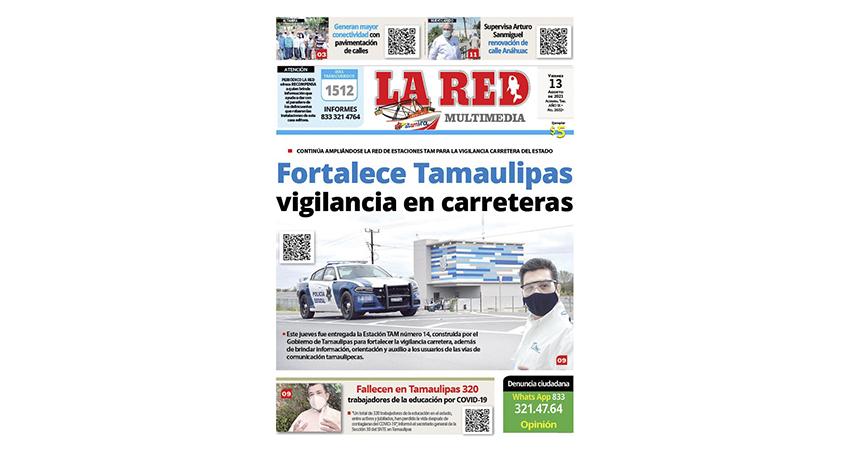 Fortalece Tamaulipas vigilancia en carreteras
