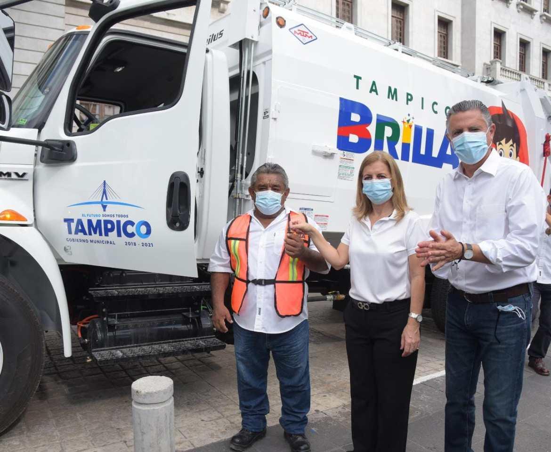 Fortalecen a Servicios Públicos de Tampico