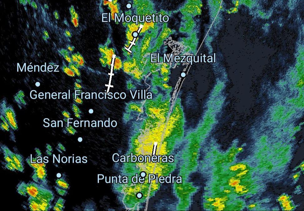 Se esperan lluvias torrenciales en la Laguna Madre por Nicholas