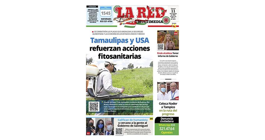 Tamaulipas y USA refuerzan acciones fitosanitarias