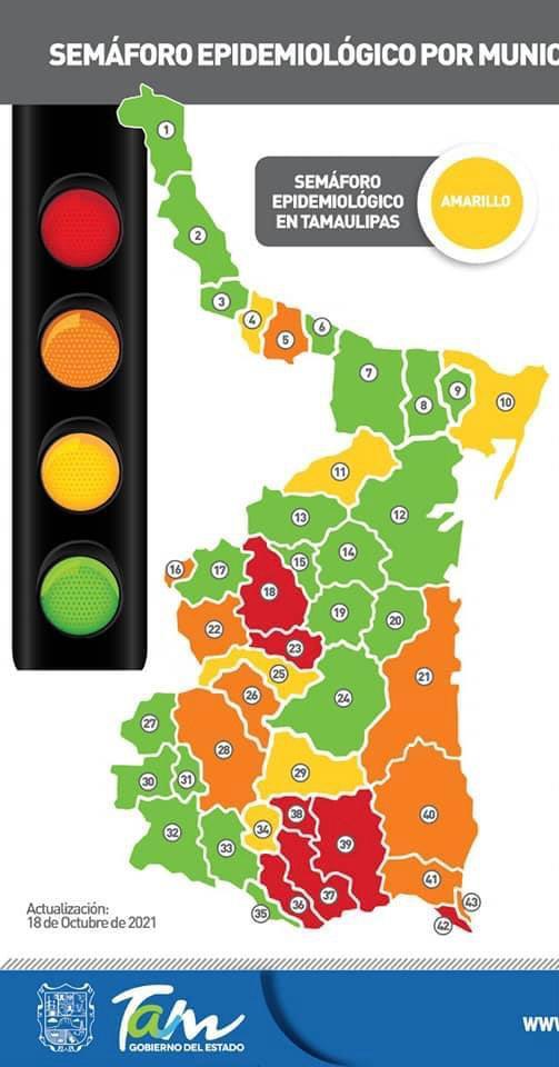 Pasa San Fernando a semáforo epidemiológico verde
