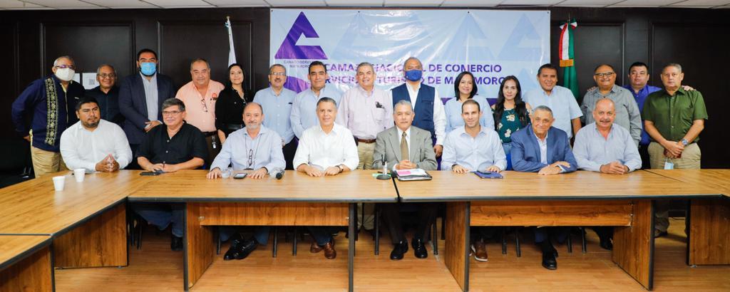 Continúa Nader gira de trabajo por Tamaulipas