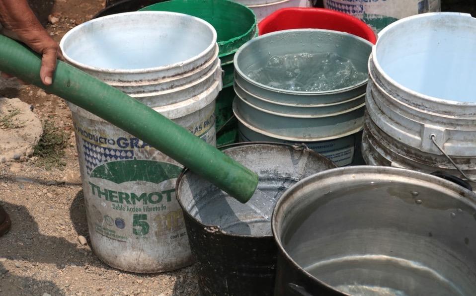 Familias de ejido de Altamira llevan cuatro meses sin agua potable