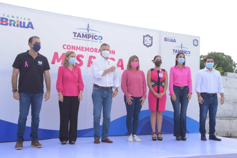 Refuerzan acciones contra el cáncer de mama en Tampico