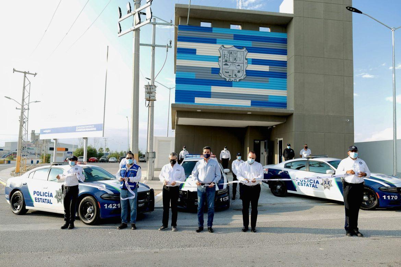 Inaugura gobernador nueva Estación Segura en Reynosa