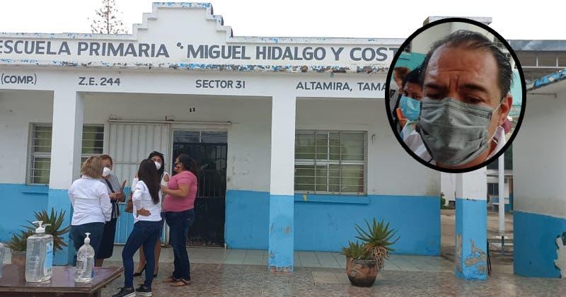 Condicionan material y exámenes a estudiantes en Altamira