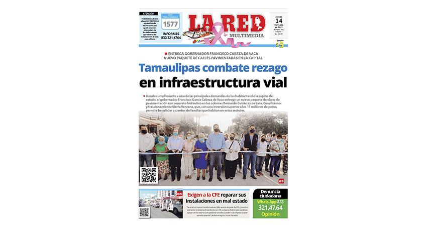 Tamaulipas combate rezago en infraestructura vial