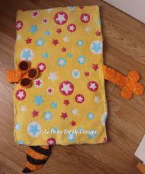 tapis de change bébé raton laveur