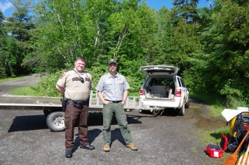 Brandon & Mike from Grand Portage National Monument
