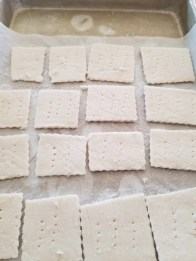 Grain Free Garlic Crackers
