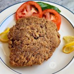 Chicken Fried Steak made with Garlic Crackers