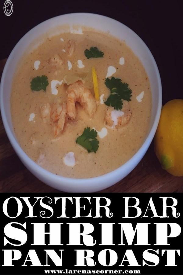 Oyster-Bar Shrimp Pan Roast in a bowl