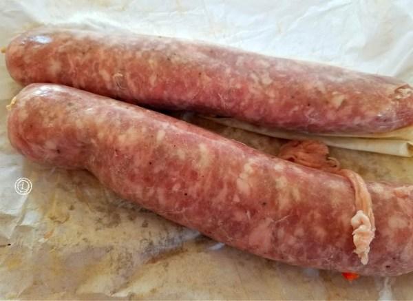 2 Italian Sausages