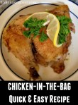 Cooked Chicken in the bag