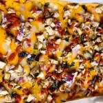Gluten-Free Family Size Pizza-Crust my recipe of Moroccan Pizza