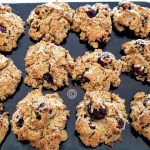 Gluten-Free Blackberry Biscuits that grain-free, refined sugar-free and dairy-free, infused with Earl Grey tea and made with coconut oil and coconut milk.