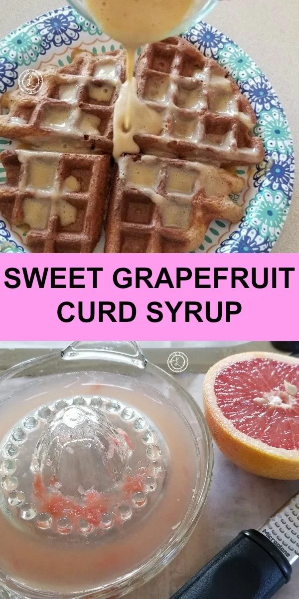 Spring Lemon Curd Syrup, Lemon flavored, lemon curd, waffles, pancakes, crepes, breakfast, breakfast for dinner, desserts
